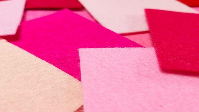 カラーコード ピンク系80色