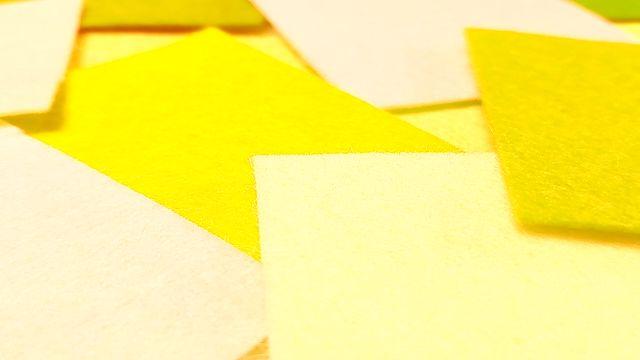 カラーコード 黄系