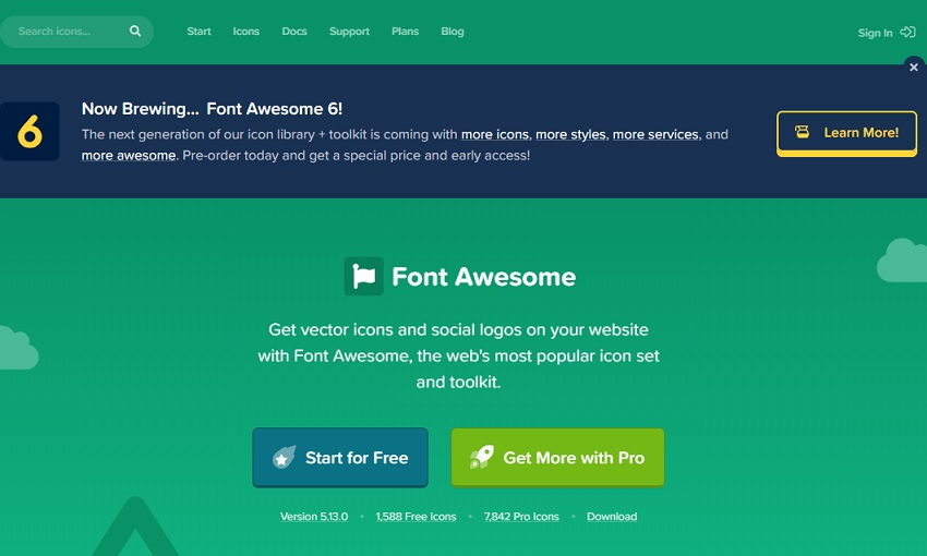 Font Awesome6