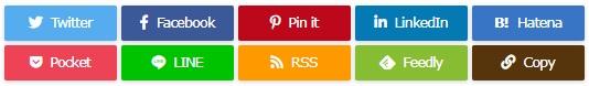 ルクセリタス:SNSボタン