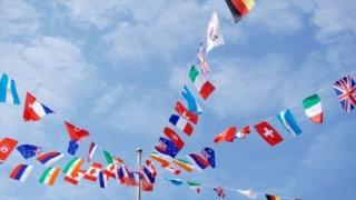 オリンピック出場予定国・国旗+カラーコード(アフリカ54ヵ国)