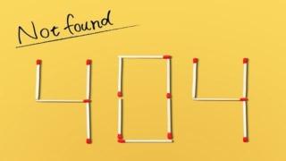 404 NotFoundをおしゃれに!サンプルサイトや画像の作り方