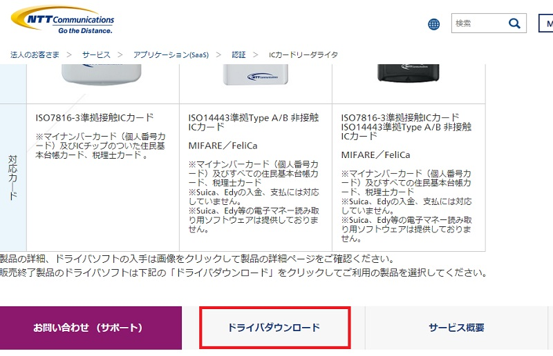 NTTCom Smart Card Reader for JPKI