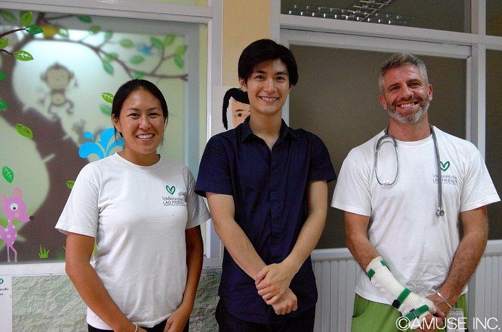 2017年9月『ラオ・フレンズ小児病院』訪問