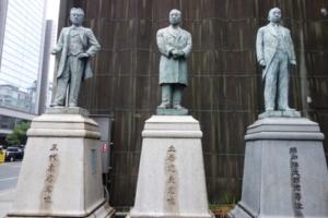 大阪商工会議所:五代友厚像