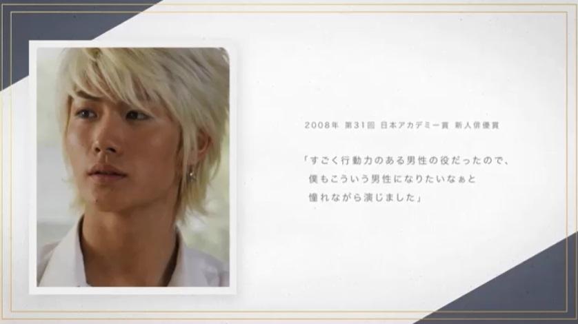 第31回日本アカデミー賞 新人俳優賞