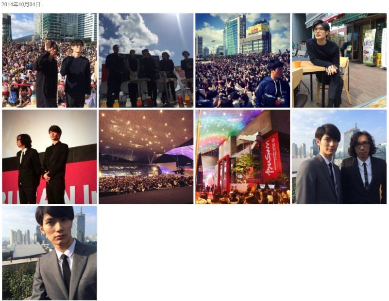 三浦春馬Weibo・2014/10/04