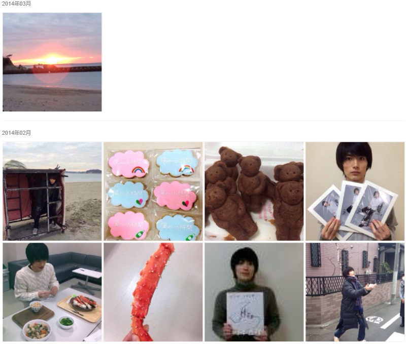 三浦春馬Weibo・2014/03-02
