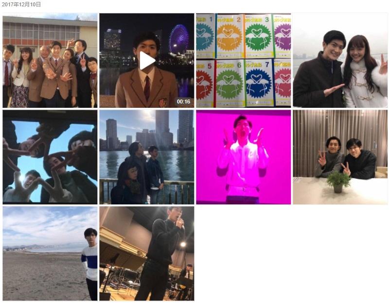 三浦春馬Weibo・2017/12/10