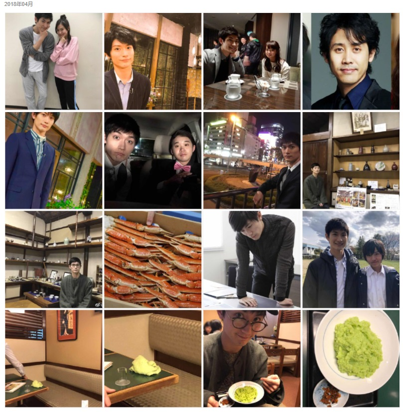 三浦春馬Weibo・2018/04